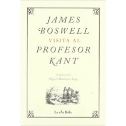 James Boswell visita al...