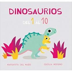 Dinosaurios del 1 al 10