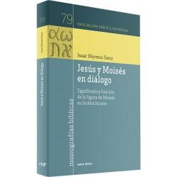 Jesús y Moisés en diálogo